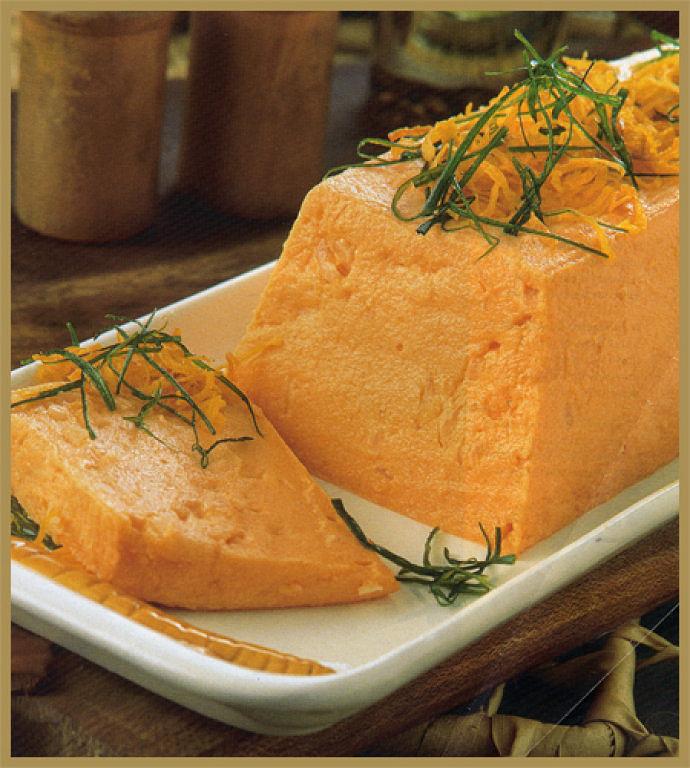 Baño Blanco Para Budines:budín de zanahorias
